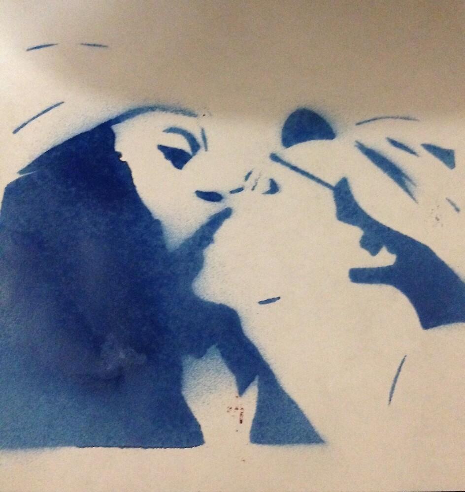 Gay kiss  by brandonpearce
