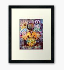 Rainbow Meditation Framed Print