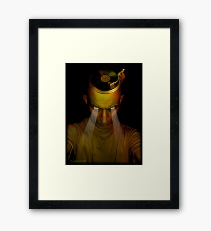 I am the DJ Framed Print