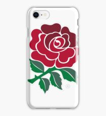 England Rugby Rose iPhone Case/Skin