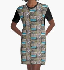 Come Sit With Me Graphic T-Shirt Dress