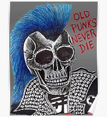 OLD PUNKS NEVER DIE Poster