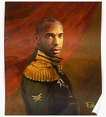 Monsieur Commandant Thierry Henry Poster
