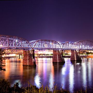 Purple People Bridge, Cincinnati, Ohio by christacharlene