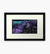 Raven House Framed Print