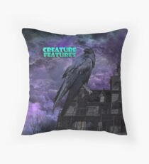 Raven House Throw Pillow