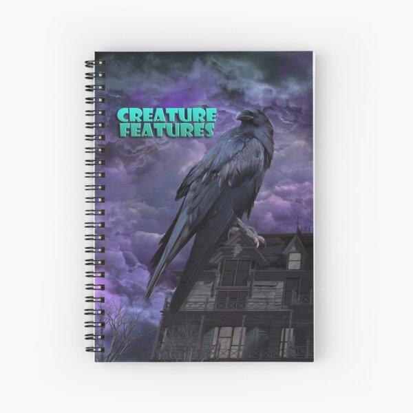 Raven House Spiral Notebook