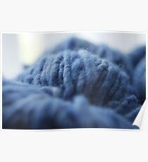 Blue Yarn Poster