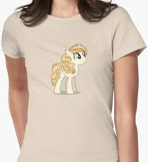 Sweet Biscuit Pony Womens Fitted T-Shirt