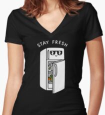 Stay Fresh Women's Fitted V-Neck T-Shirt