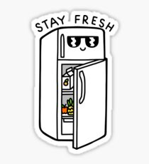 Stay Fresh Sticker