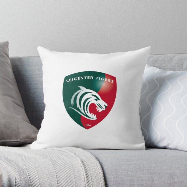 Leicester Tigers Throw Pillow
