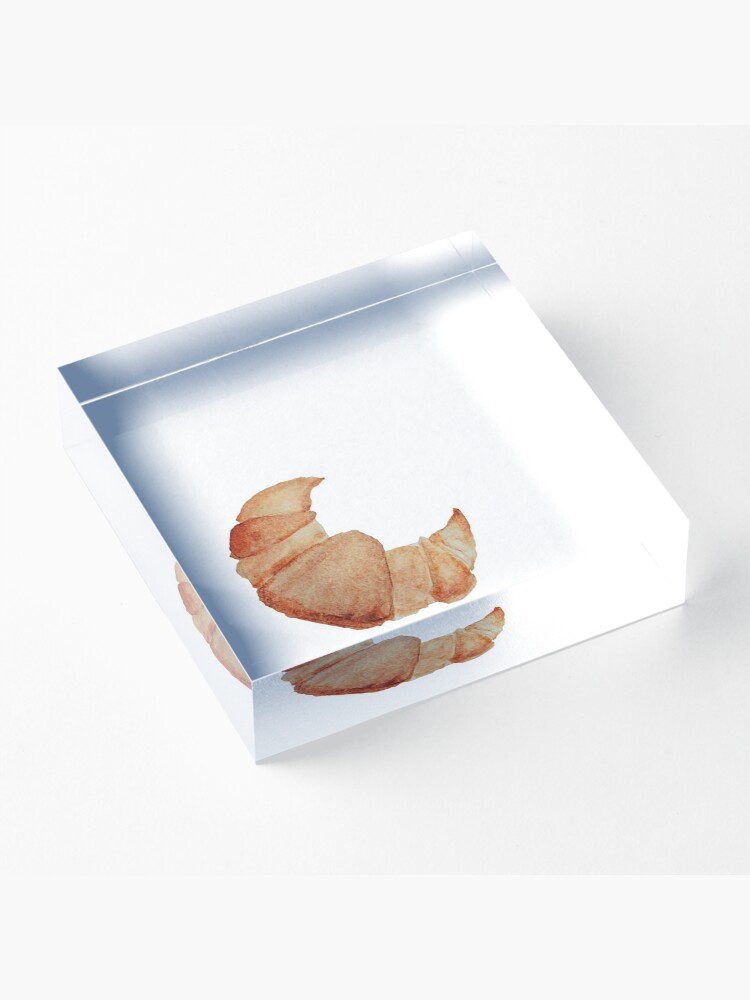 Alternate view of Croissant  Acrylic Block