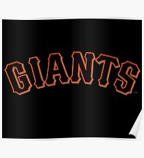 SAN FRANCISCO GIANTS Poster