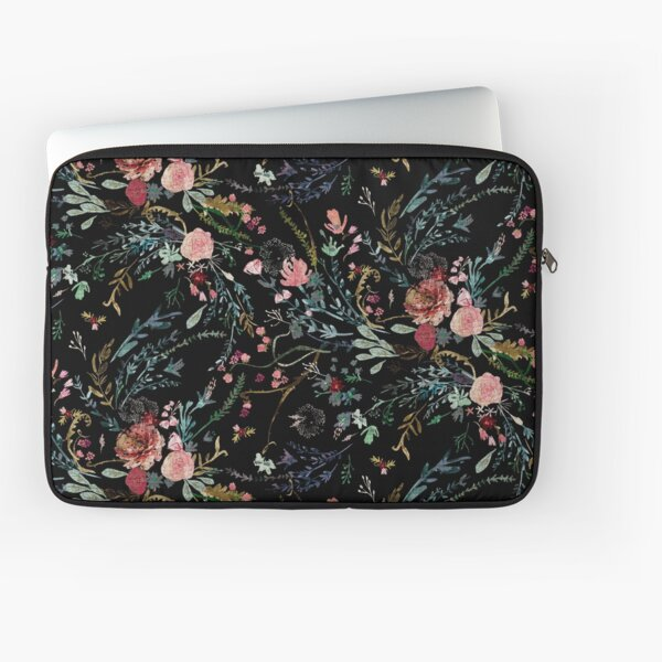 Midnight Floral Laptop Sleeve