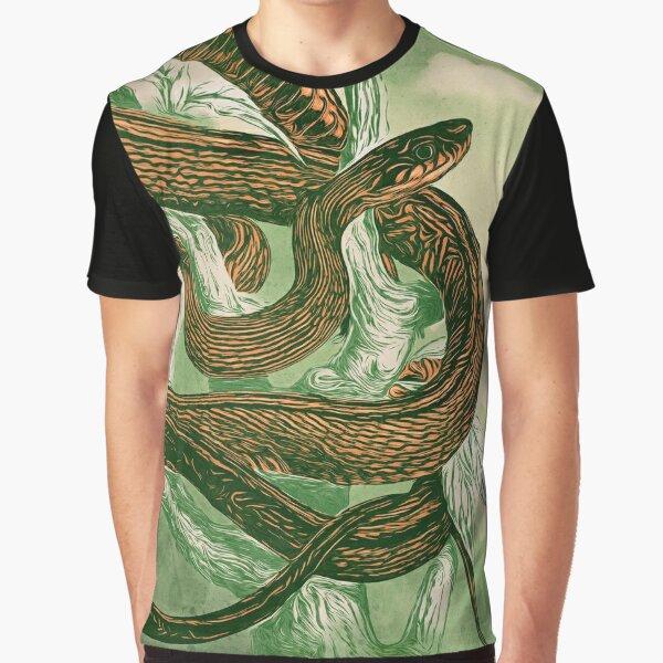 Animalines - Snake 01 Graphic T-Shirt