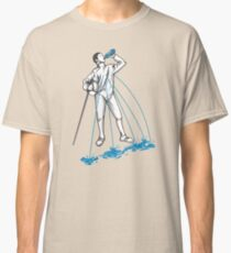 Fencing Post Workout Humor Classic T-Shirt