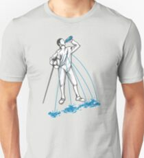 Fencing Post Workout Humor Unisex T-Shirt