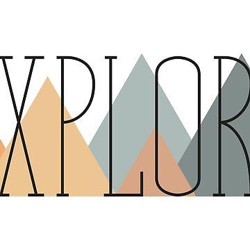 Explore-Minimal by DesignsByEmma