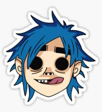 Gorillaz 2D Sticker