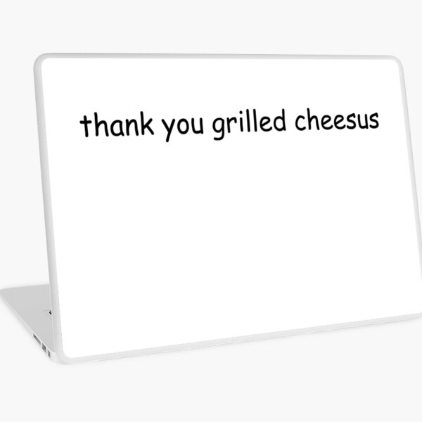 grilled cheesus Laptop Skin