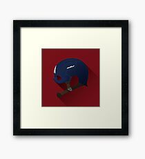 Soldier of the Past Framed Print