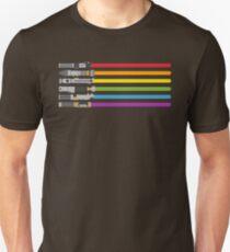 Lightsaber Rainbow Unisex T-Shirt