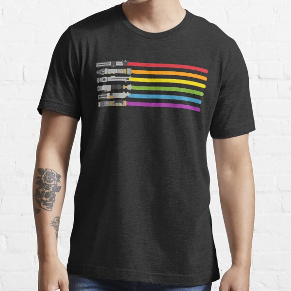 Lightsaber Rainbow Essential T-Shirt