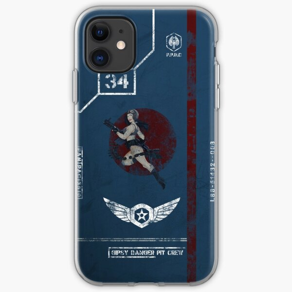 Gipsy Danger Pit Crew Case iPhone Soft Case