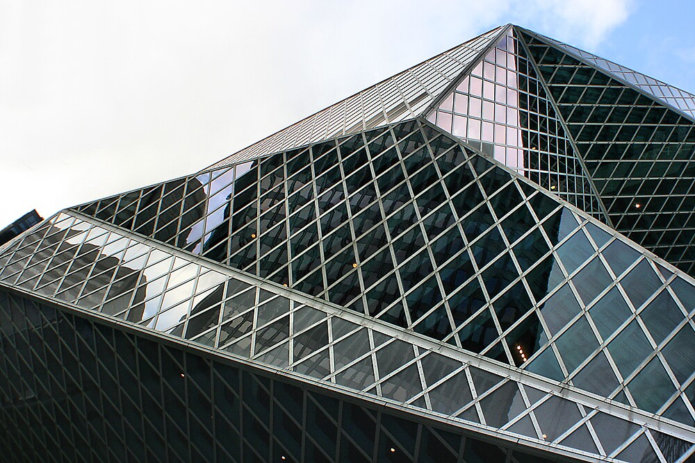 seattle library by rutger