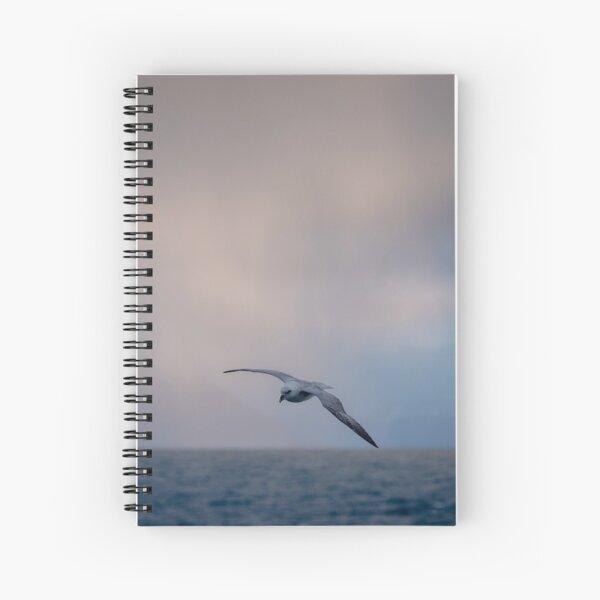 Fulmar in Flight Spiral Notebook