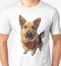 Cute German Shepherd Unisex T-Shirt