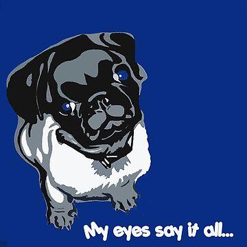 MY EYES SAY IT ALL.... by spanski
