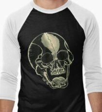 BLK SKULL - Art By Kev G Men's Baseball ¾ T-Shirt
