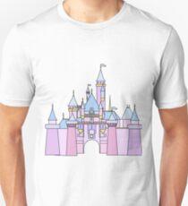 Pastel Princess Castle Unisex T-Shirt