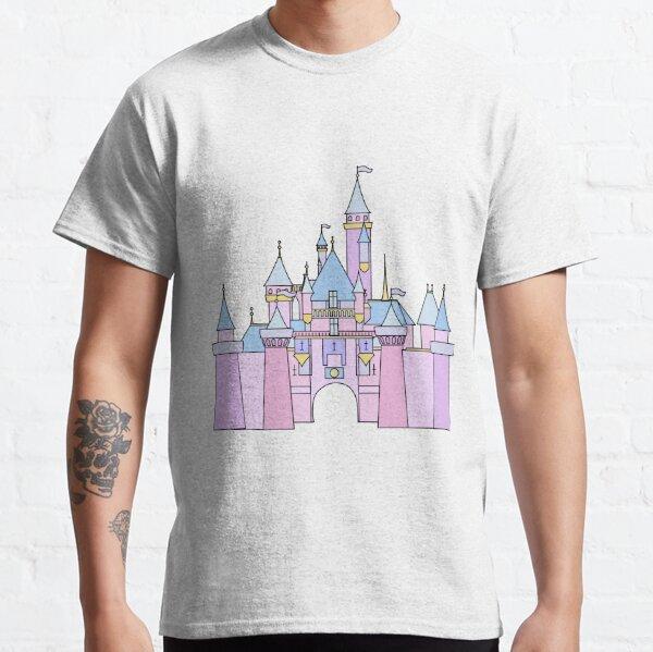Pastel Princess Castle Classic T-Shirt