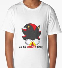 Angry Shadow Cookie  Long T-Shirt