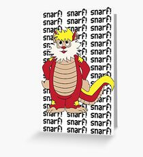 SNARF Greeting Card
