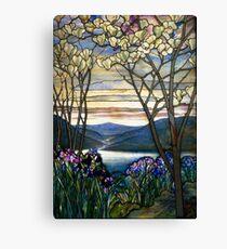 Magnolias and Irises   Canvas Print
