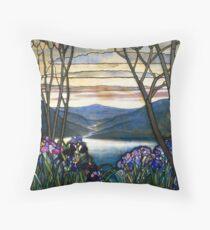 Magnolias and Irises   Throw Pillow