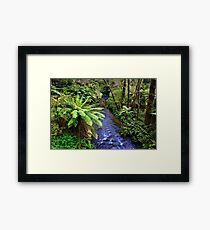 1642 Aire River - down stream Framed Print
