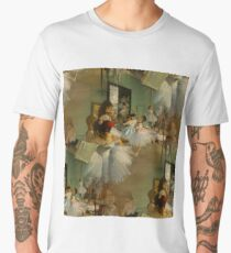 The Dance Class Print Men's Premium T-Shirt