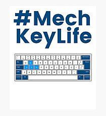 Mechanical Keyboard Shirt 60% Key Funny T-Shirt Photographic Print