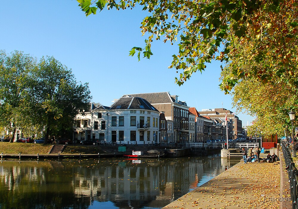 Going towards the River Vecht by jchanders
