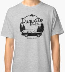 Duquette Family Vacation 2017 - Black Ink Classic T-Shirt
