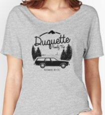 Duquette Family Vacation 2017 - Black Ink Women's Relaxed Fit T-Shirt
