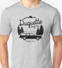 Duquette Family Vacation 2017 - Black Ink T-Shirt