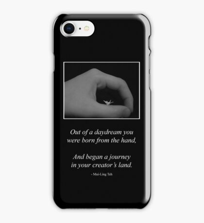 Born from the Hand iPhone Case/Skin