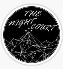 The Night Court Sticker