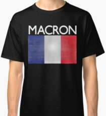 Macron French Presidential Election Victory Classic T-Shirt